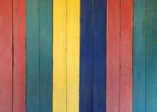 Пестротканая деревянная предпосылка стоковые фото