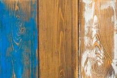 Пестротканая деревянная текстура Стоковая Фотография RF