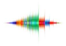 Пестротканая звуковая война Стоковые Изображения RF