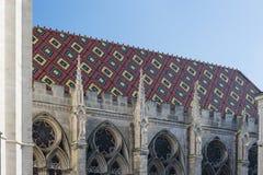 Пестротканая крыша собора ` s St Stephen Стоковые Фото