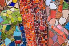 Пестротканая мозаика в одном из дворов Санкт-Петербурга Стоковая Фотография