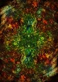 Пестротканая орнаментальная картина структуры Предпосылка флористического орнамента стоковые фото