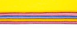 Пестротканая одежда чистки Стоковые Фотографии RF