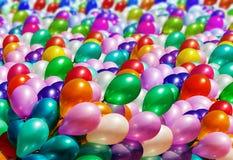 Пестротканая предпосылка воздушных шаров Стоковое Изображение RF