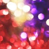 Пестротканая предпосылка квадрата рождества Стоковая Фотография