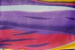 Пестротканая текстурированная предпосылка ткани Стоковая Фотография RF