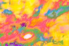 Пестротканое абстрактное психоделическое изображение Иллюстрация, анимации gif, короткие видео стоковая фотография
