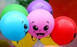 Пестротканые воздушные шары Стоковая Фотография