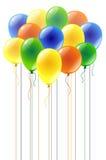 Пестротканые воздушные шары Стоковые Изображения