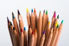 Пестротканые карандаши Стоковые Изображения RF