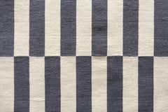 Пестротканые нашивки на ткани Красочный традиционный стиль Peruvian, поверхность половика конца-вверх стоковые фото