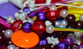 Пестротканые пластичные объекты выставочного образца - фотоснимок запаса Стоковые Фото