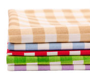 Пестротканые полотенца салфеток Стоковое фото RF