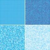 Пестротканые плитки мозаика 10 eps Стоковые Изображения