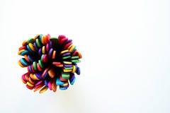 Пестротканые ручки мороженого Стоковое Изображение RF