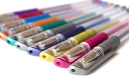 Пестротканые ручки Стоковые Фото