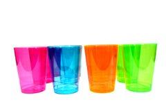 Пестротканые чашки Стоковое фото RF