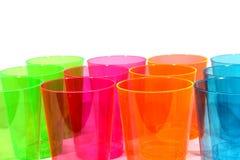Пестротканые чашки Стоковое Изображение