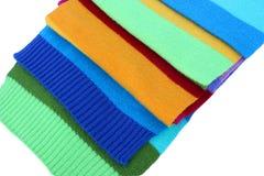 пестротканые шерсти шарфа Стоковое Изображение