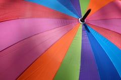 Пестротканый зонтик Стоковое фото RF