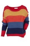 Пестротканый свитер стоковые изображения rf