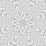 Пестротканый цветочный узор в стиле витража Вы c Стоковое Изображение