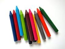 Пестротканый crayon Стоковые Изображения RF