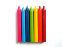 Пестротканый crayon Стоковая Фотография