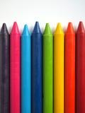 Пестротканый crayon Стоковое Изображение RF