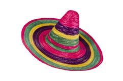 пестротканый sombrero Стоковое Изображение