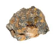 Пестрый камень сфалерита Стоковое Изображение