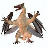 Пестрый дракон Стоковые Изображения RF