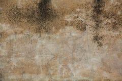Песчаная бетонная стена Стоковая Фотография