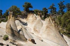 песчаник гор вверх Стоковые Изображения