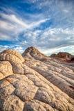 Песчаник делает по образцу юго-запад пустыни национального монумента стоковая фотография rf