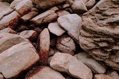 Песчаник на накидке Khanom моря, Nakhon Si Thammarat, Таиланде Стоковое Изображение