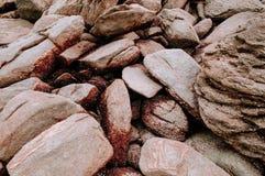 Песчаник на накидке Khanom моря, Nakhon Si Thammarat, Таиланде Стоковая Фотография