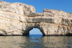 Песчаник Омана Стоковая Фотография