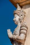 Песчаник скульптуры ангела Стоковые Изображения