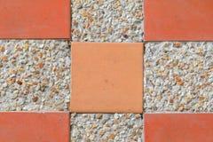 Песчаник текстуры плиточного пола блока картины или мытье камня Стоковые Фотографии RF