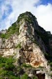песчаник утеса скалы Стоковая Фотография