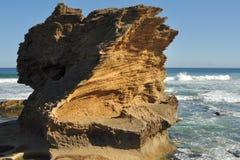 песчаник утеса Стоковые Изображения