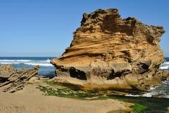 песчаник утеса Стоковые Фото