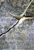 песчаник gravestone Стоковые Фотографии RF