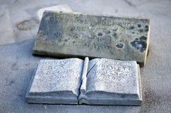 песчаник gravestone Стоковая Фотография RF
