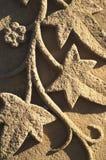 песчаник gravestone Стоковое Фото