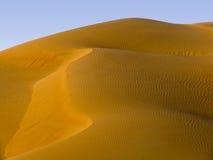 Песчанная дюна - Ближний Восток Стоковые Фотографии RF
