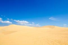 Пустыня песка Стоковые Изображения RF