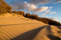 Песчанная дюна на пляже в Гаваи Стоковые Изображения