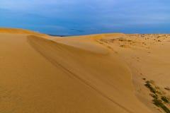 Песчанная дюна. Ne Mui. Вьетнам Стоковое Изображение